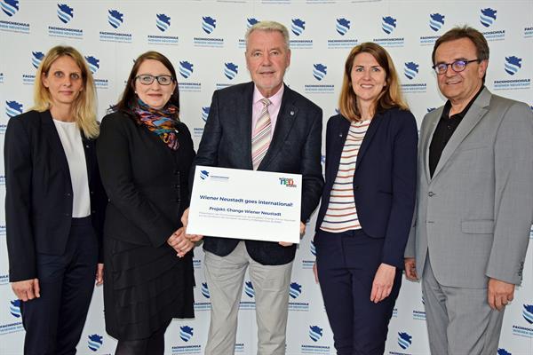 """FHWN-Forschungsprojekt """"Change Wiener Neustadt"""" international gefragt"""