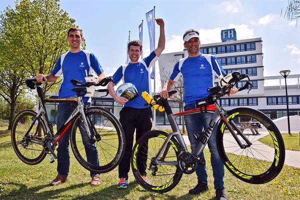 FH Staatsmeisterschaften im Triathlon – Platz 1 für die FH Wiener Neustadt