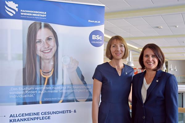 Maria Schweighofer leitet Allg. Gesundheits- & Krankenpflege an der FH Wiener Neustadt