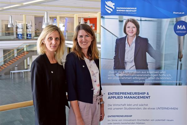Julia Müllner übernimmt Entrepreneurship & Applied Management an der FH Wiener Neustadt