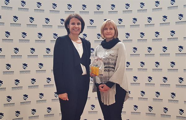 FHWN-Studiengang Logopädie gewinnt Bank Austria Sozialpreis in NÖ