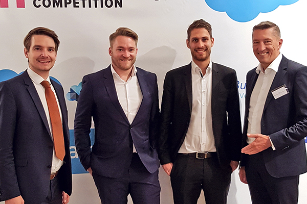 FH Wiener Neustadt bei European Sales Competition in Paris
