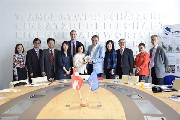 Kooperationsgespräche zwischen Hongkong's SchuldirektorInnen und FH Wiener Neustadt